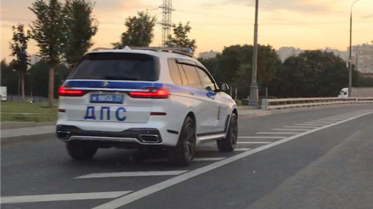 У московской полиции появился внедорожник за 10,7 миллиона ...