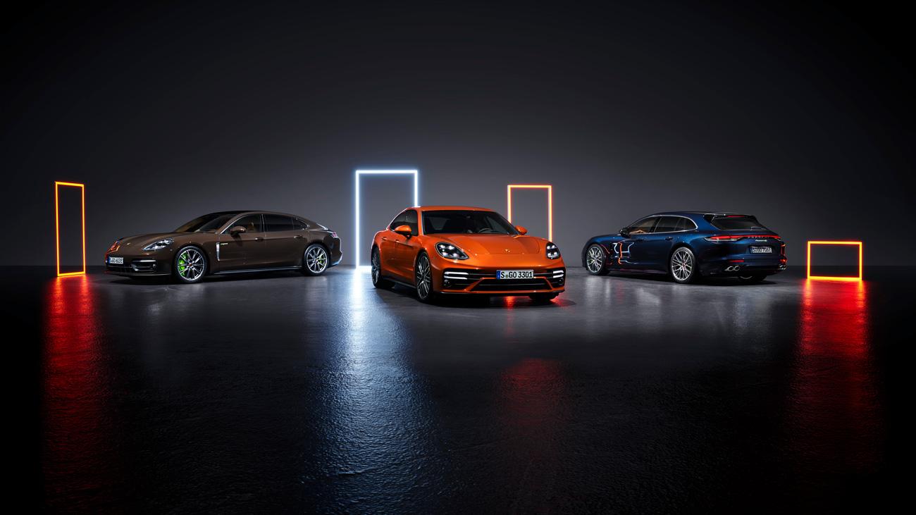 Полностью рассекречено обновлённое семейство Porsche Panamera