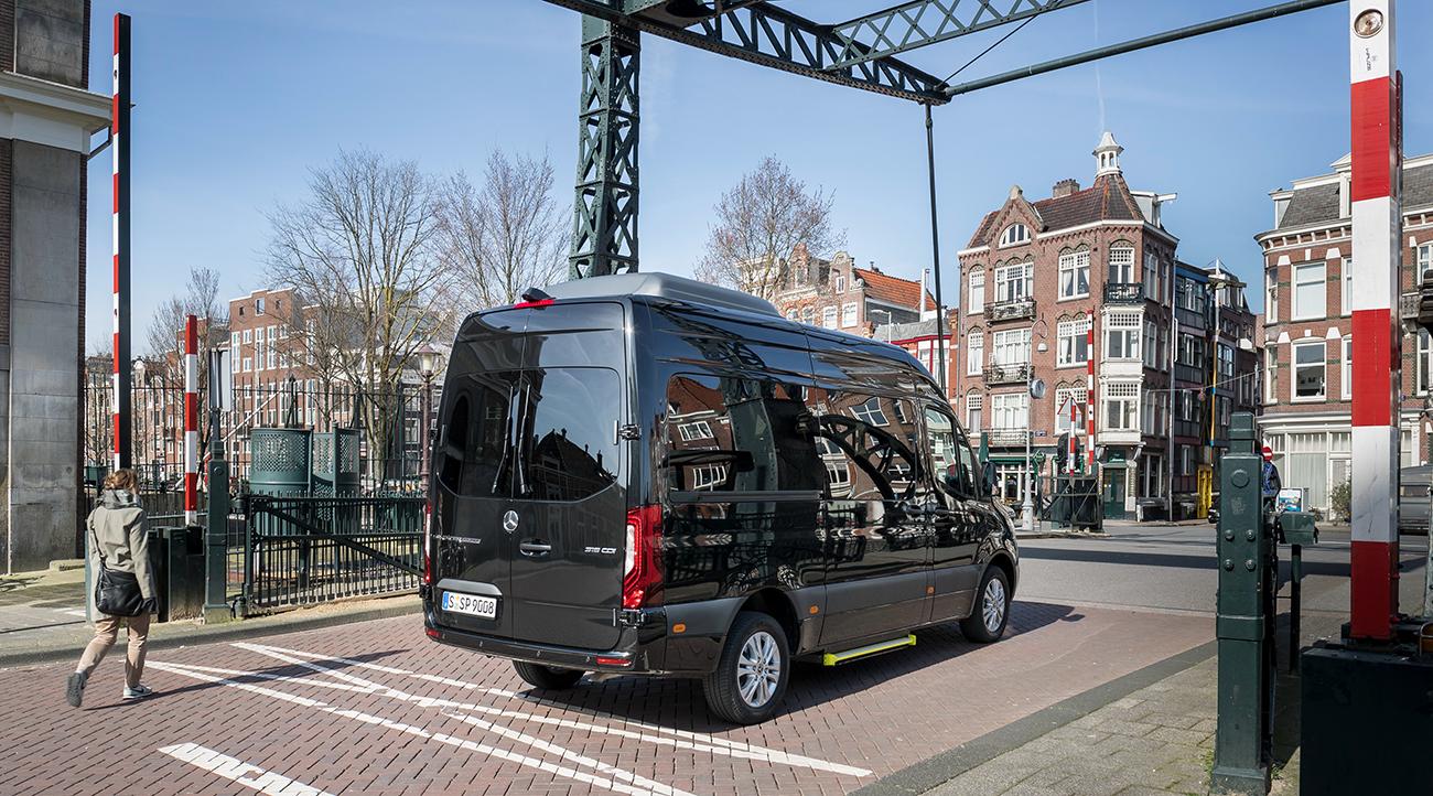Микроавтобусы Mercedes-Benz Sprinter отозвали в России из-за проблем с электропроводкой
