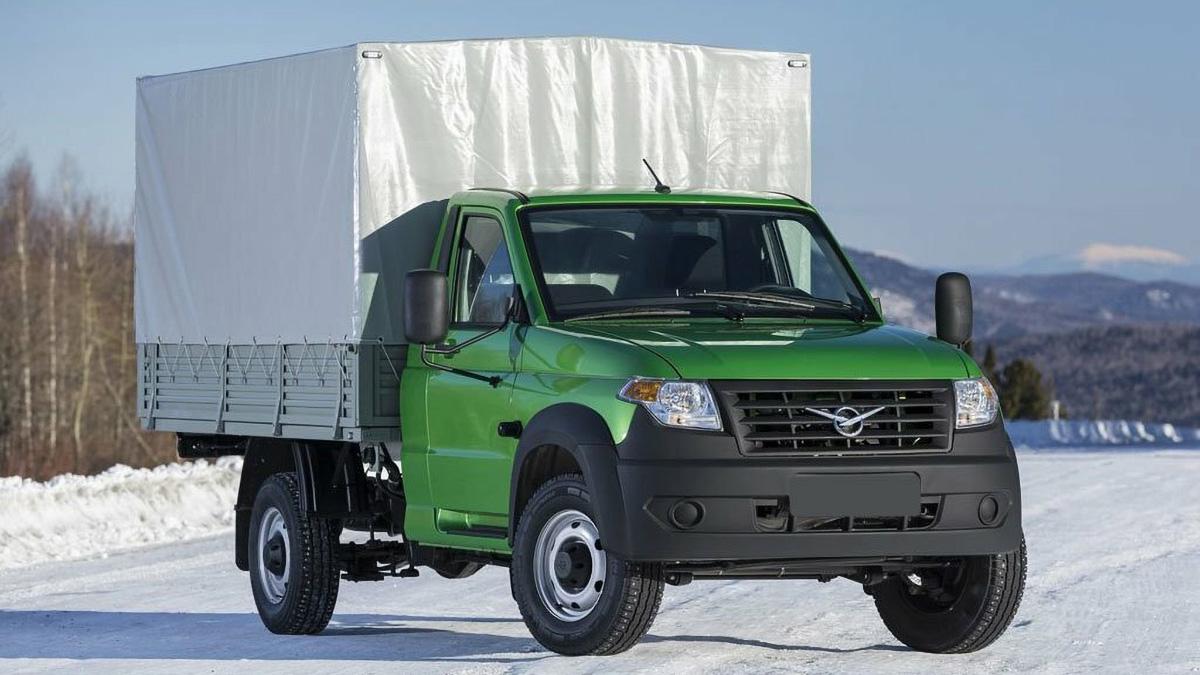УАЗ готовит тяжёлую версию грузовика «Профи»