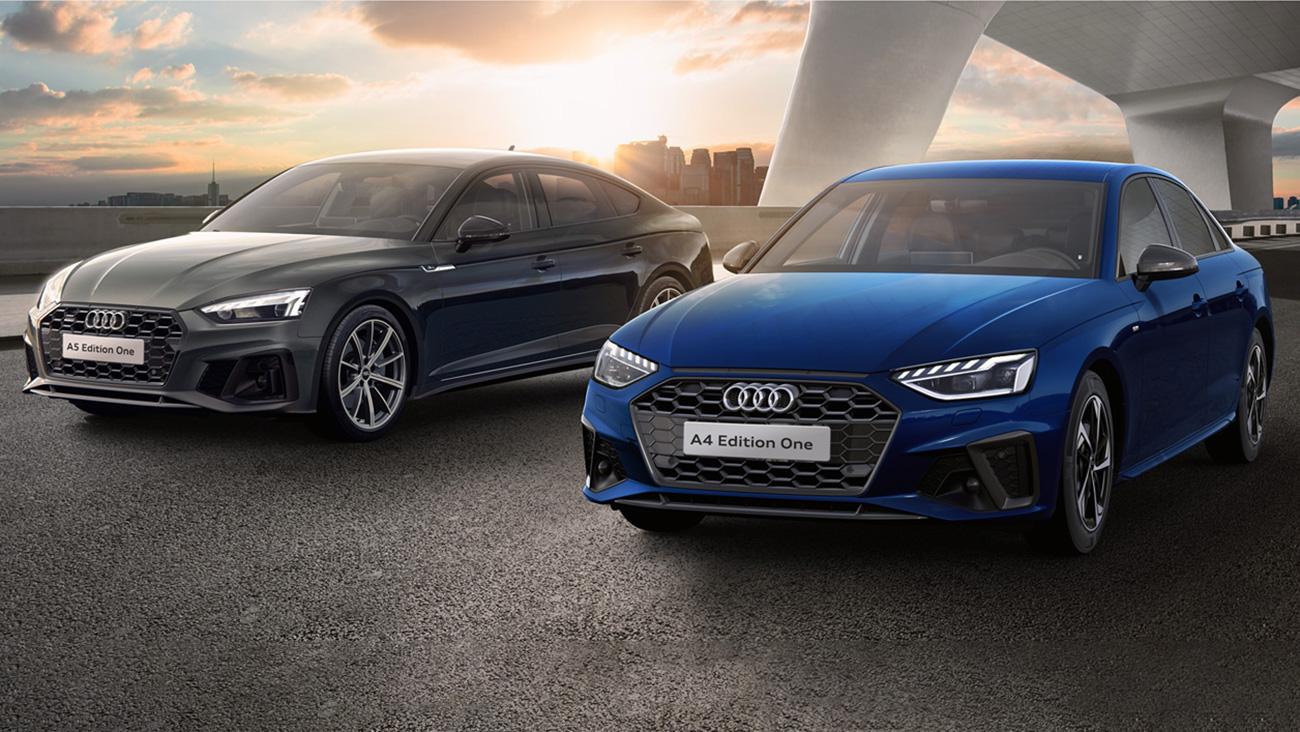 Audi начинает российские продажи обновлённых A4 и A5 Sportback с особой серии