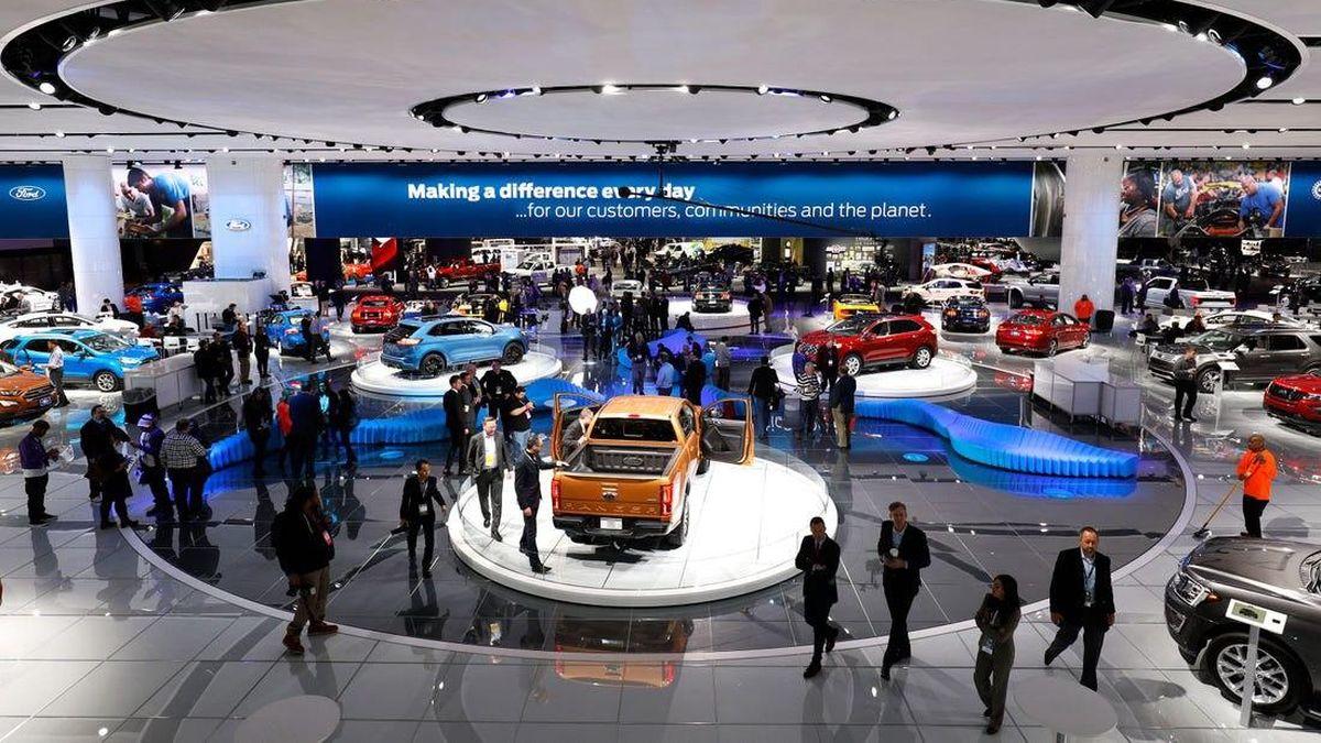 В США может пройти три международных автосалона подряд