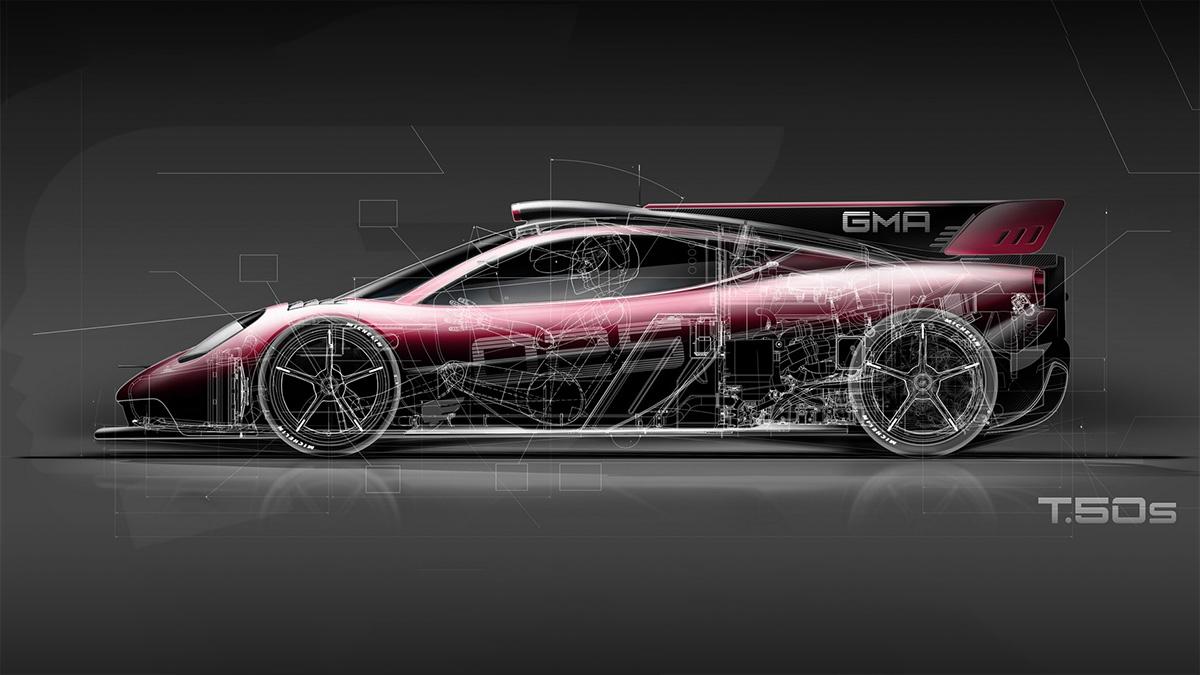 «Суперкар с вентилятором» от Гордона Марри получил гоночную версию