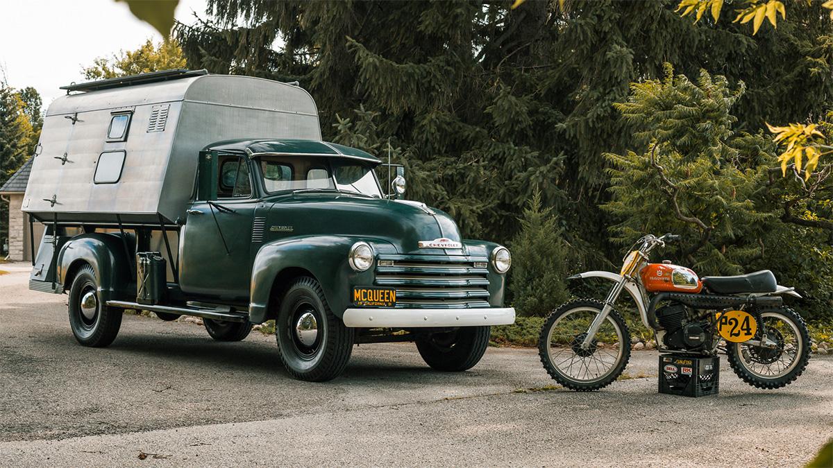 Раритетный дом на колёсах Стива Маккуина выставлен на продажу
