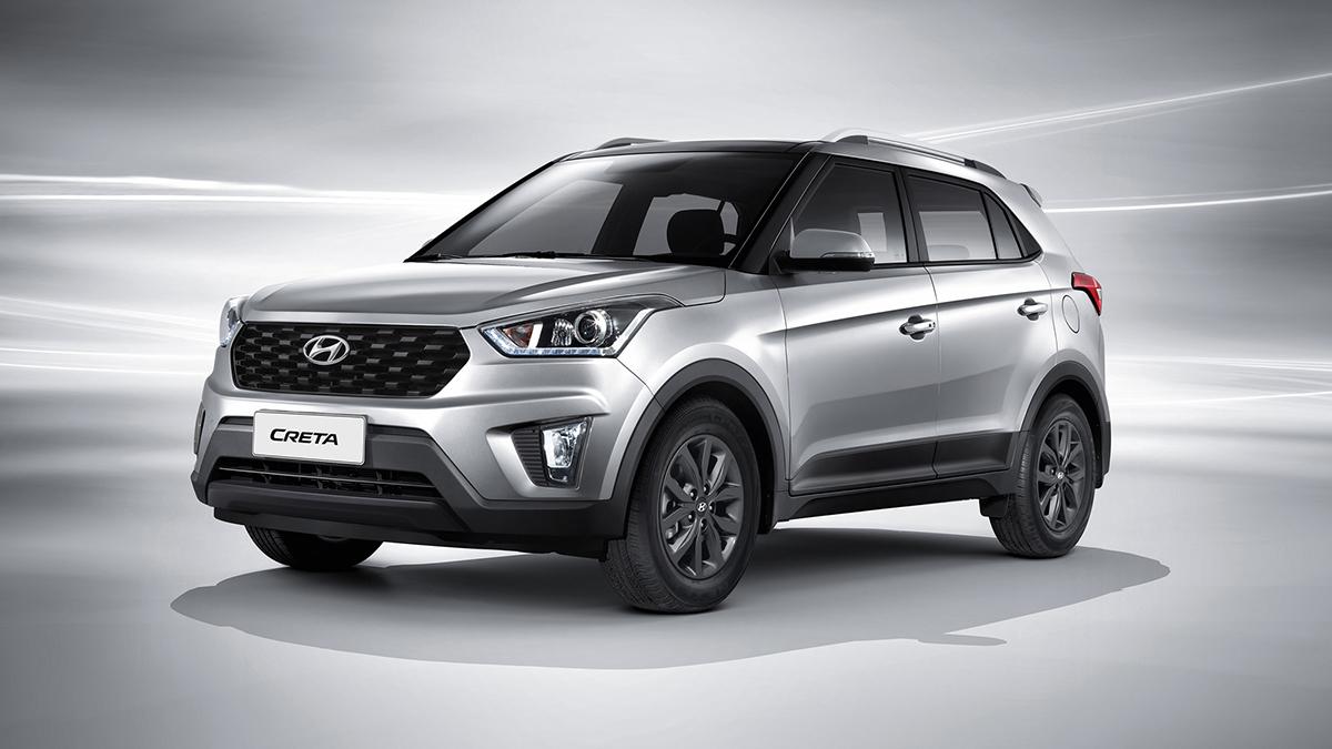 #1 Hyundai Creta Август 2020 года: 7632 штуки  Динамика продаж: плюс 38,2% Динамика в рейтинге: —   Итого, 2020 год: 44 308 штук, минус 2,8% Очень много новых Hyundai Creta на Авто.ру