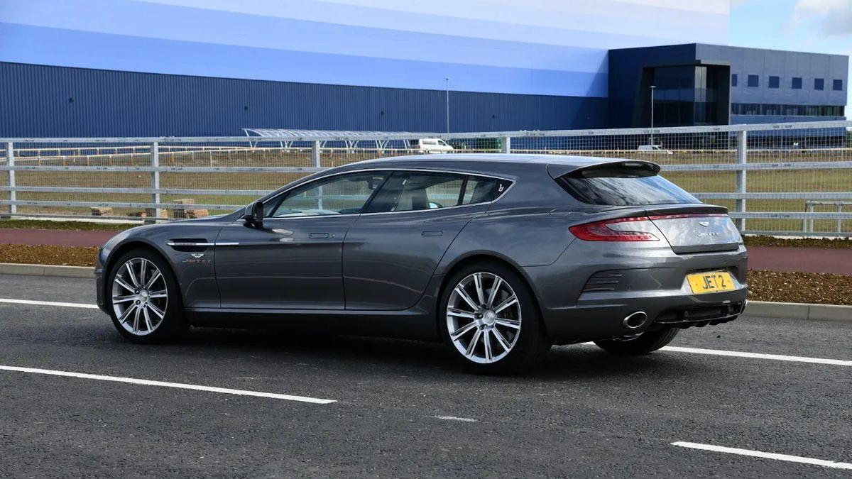 Единственный в мире Aston Martin от Bertone продают в Британии. Это универсал!