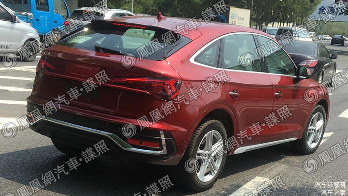 В Сети рассекретили купеобразного соперника BMW X4 от Audi снаружи и внутри