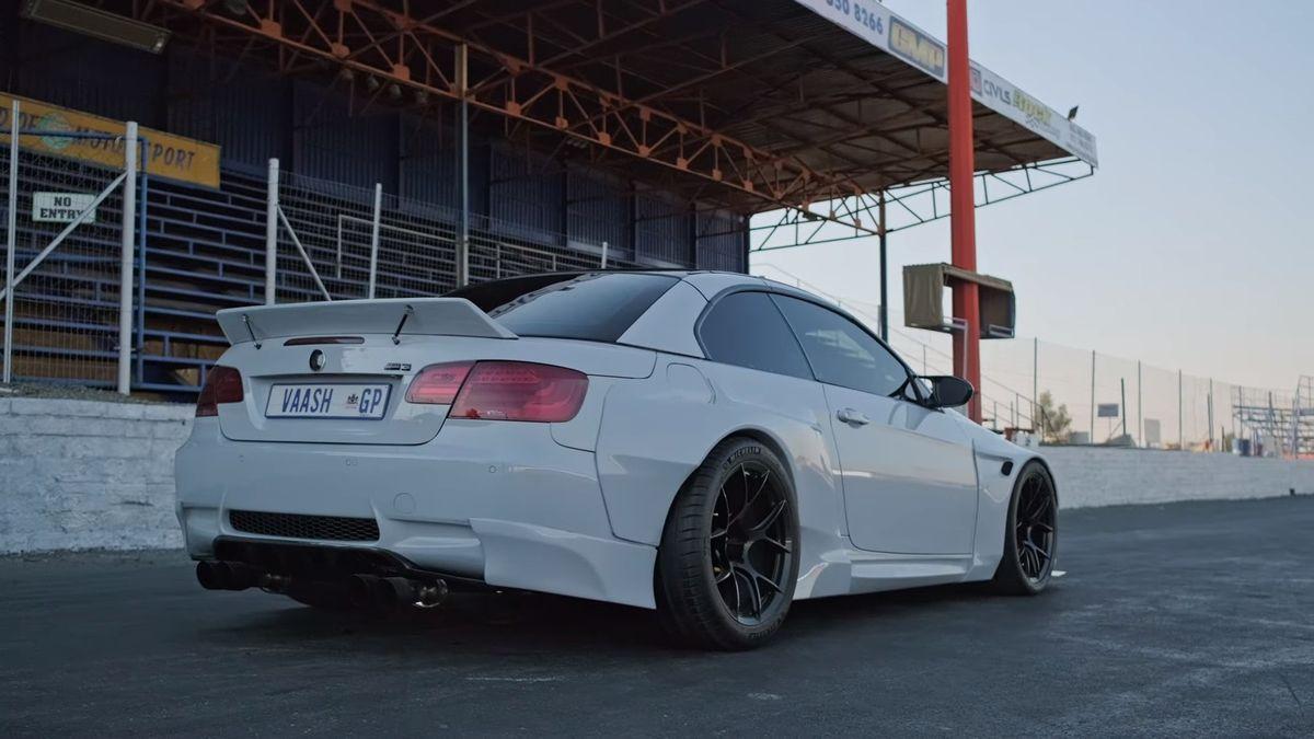 Посмотрите на уникальный спорткар BMW M3 с мотором от Ferrari