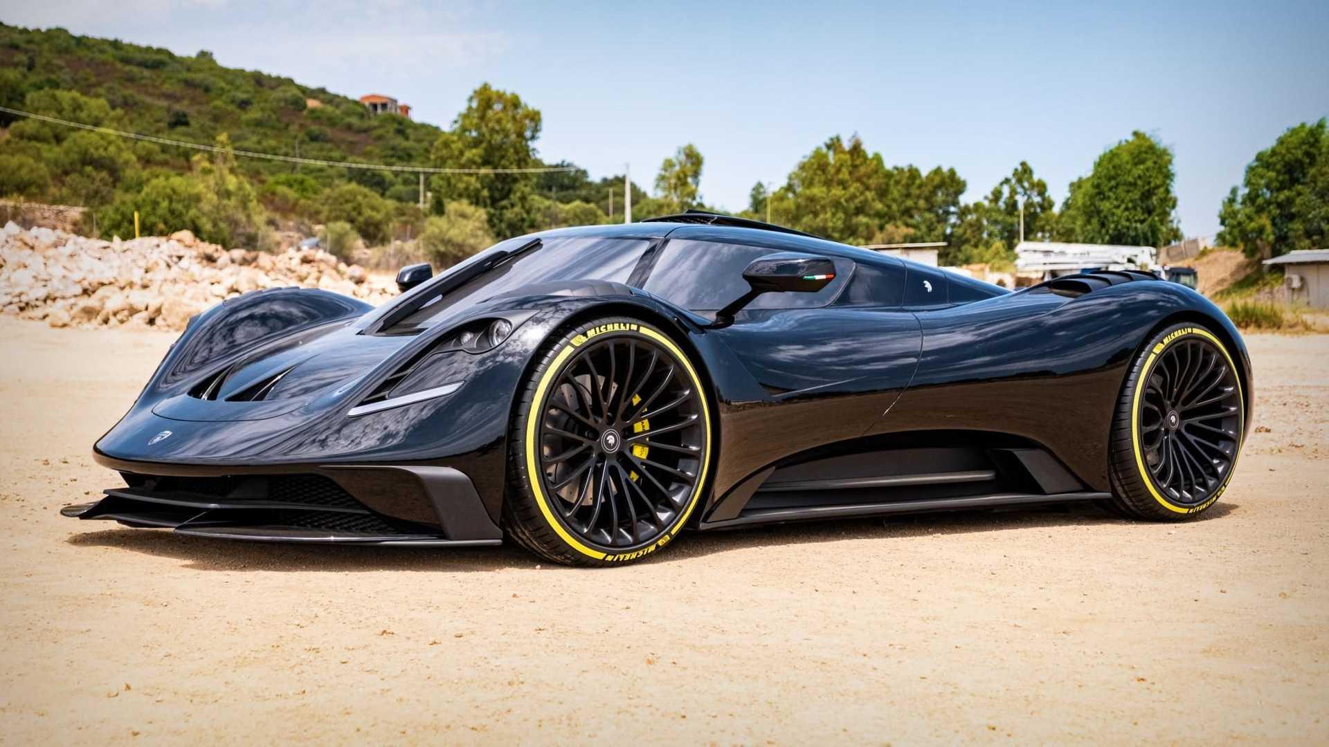 У ателье Ares Design новый суперкар — Corvette в уникальном кузове с 705-сильным атмосферником