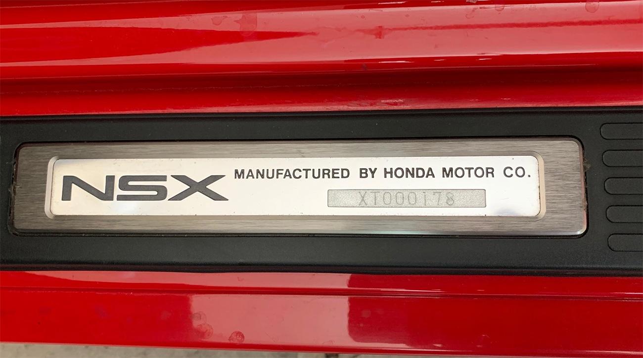 Редчайшая Acura NSX Zanardi Edition уйдёт с молотка. Таких выпустили всего полсотни