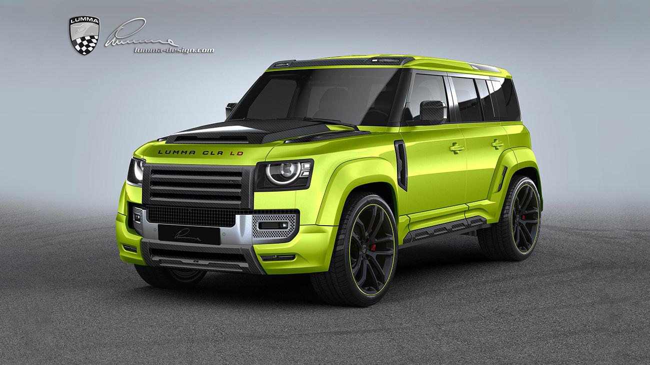 Представлен Land Rover Defender, прокачанный немецкими тюнерами из Lumma Design