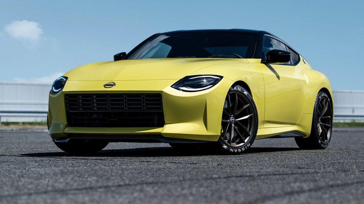 Ретростиль и V6 на «ручке»: Nissan представила прототип нового спорткара