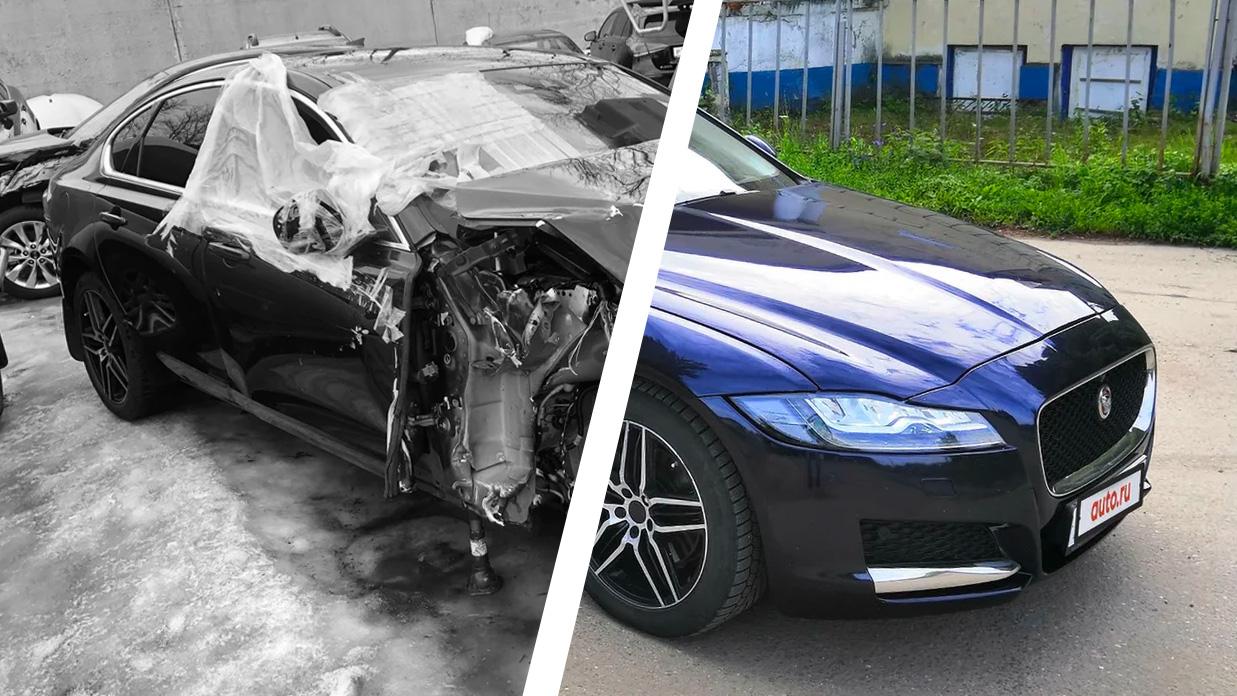 Jaguar XF — небит, некрашен?! Очём нерасскажет продавец