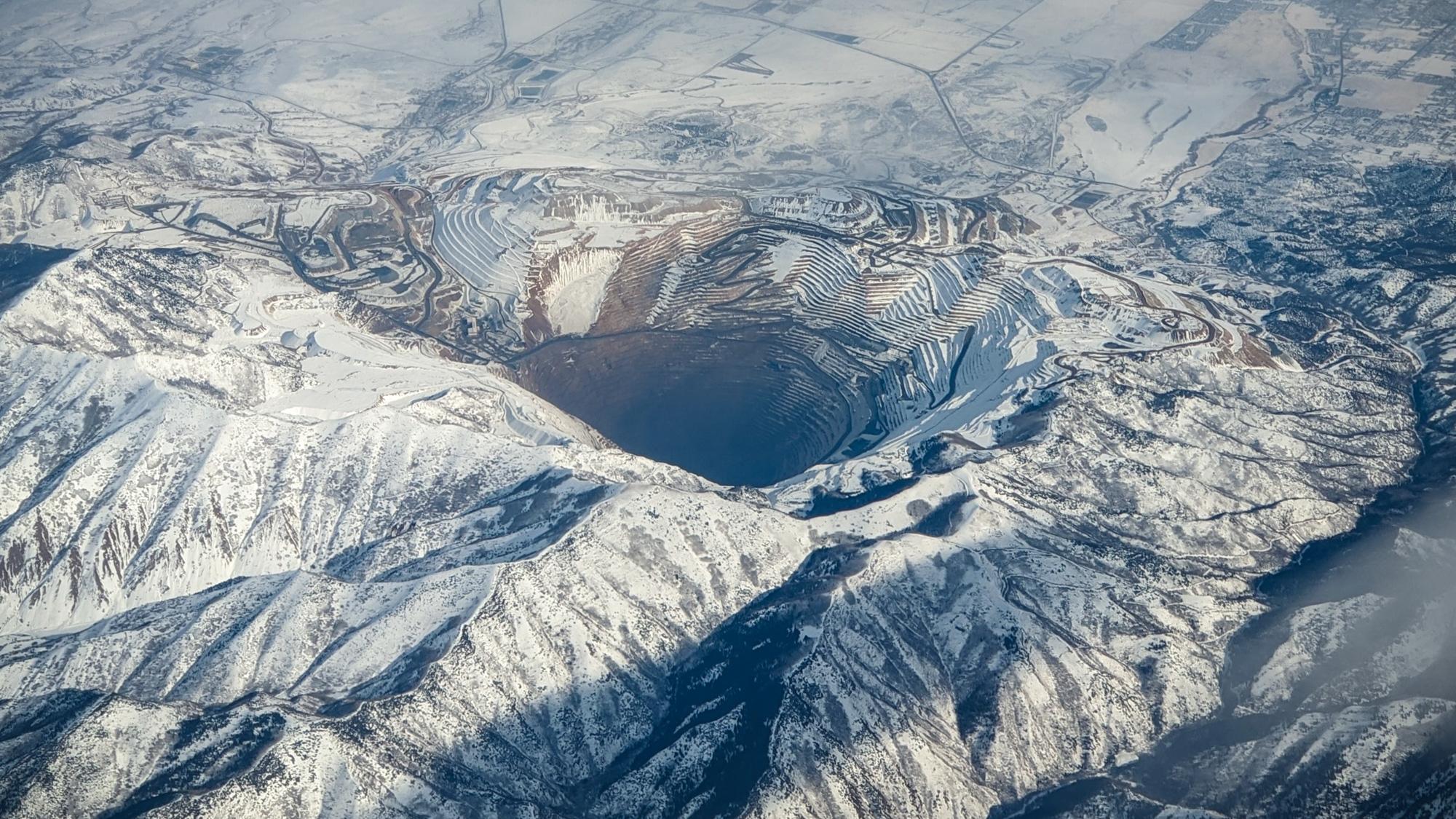 Медный рудник, штат Юта, США. Фото: Jay H., Unsplash