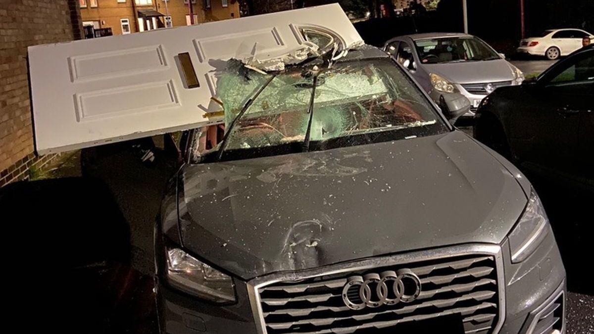 В Великобритании Audi обзавелась дополнительной дверью после ДТП