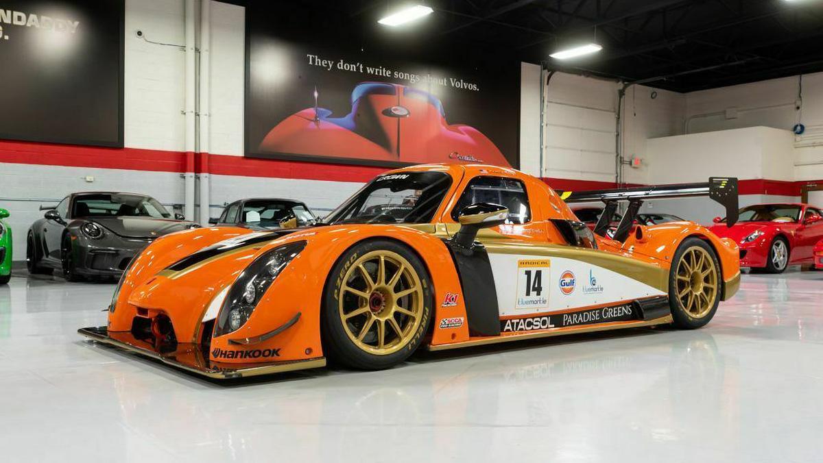 Настоящий 500-сильный болид для гонок FIA GT3 продаётся