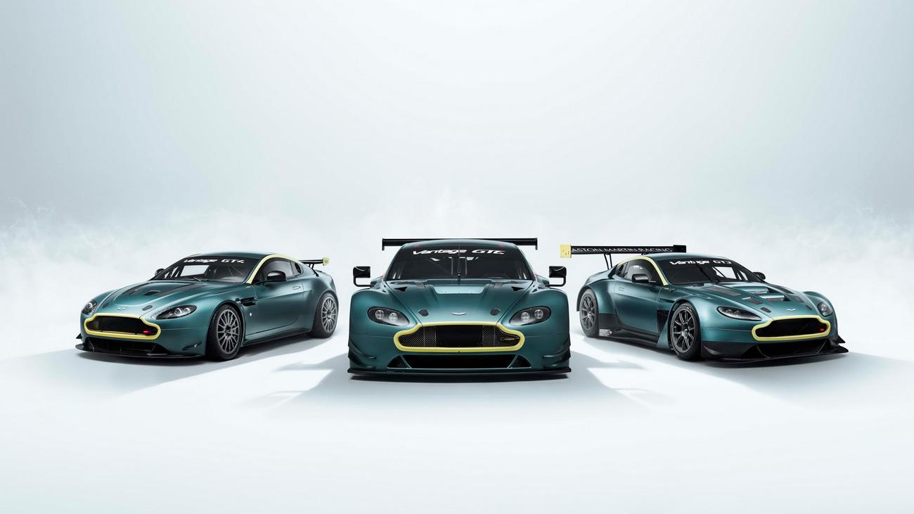 Aston Martin продаст коллекцию из трёх уникальных гоночных Vantage