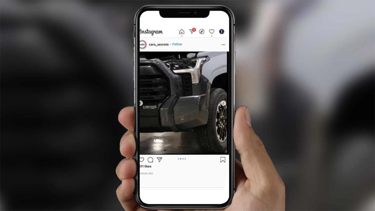 Новая Toyota Tundra: первые фото без камуфляжа