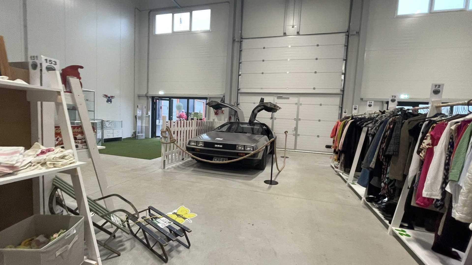 Легендарную «машину времени» в Эстонии можно купить... в комиссионке