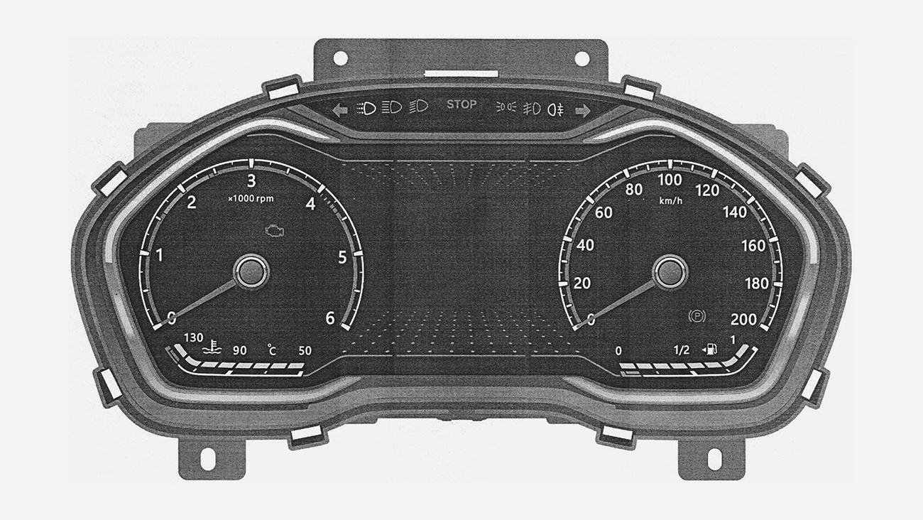 Приборы новой ГАЗели рассекречены на патентах
