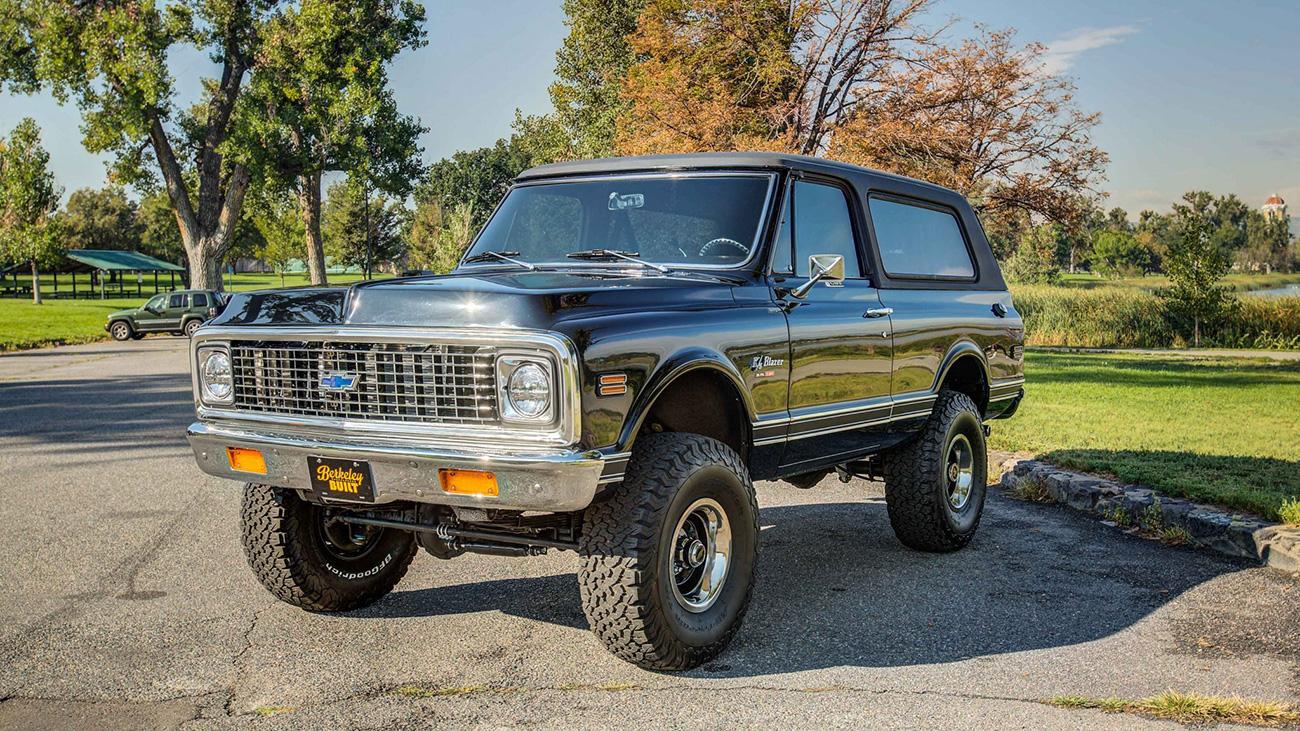 Мечта джипера: Chevrolet Blazer с мотором V8 от Корвета продаётся