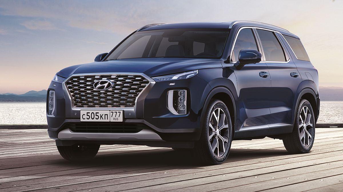 Раскрыты цены на самый большой кроссовер Hyundai для России