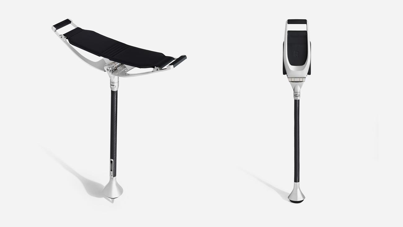Складное сиденье с фонариком: представлена новая опция от Rolls-Royce