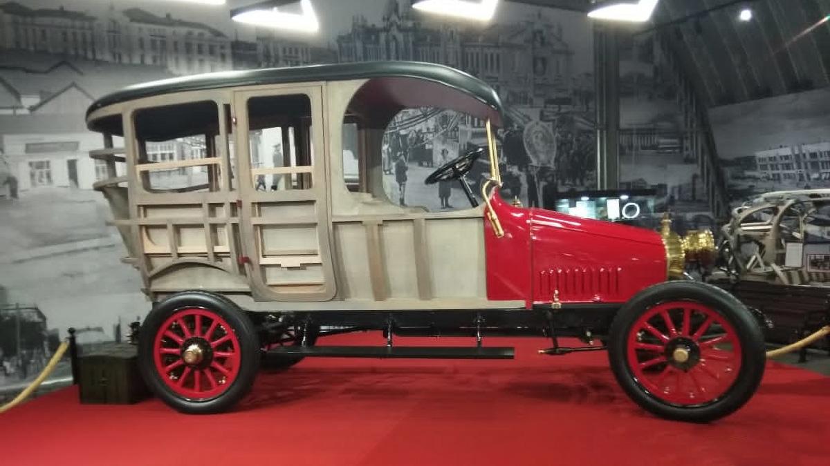В России построят двигатель для Руссо-Балта образца 1912 года