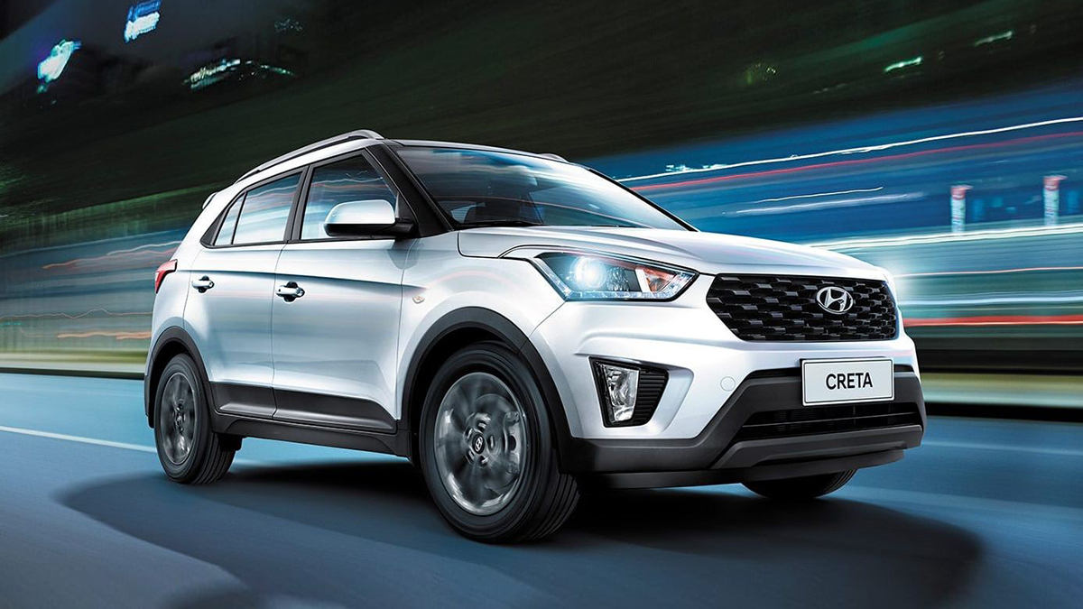 #1 Hyundai Creta Ноябрь 2020 года: 7692 штуки  Динамика продаж: плюс 5,8% Динамика в рейтинге: —  Итого, 2020 год: 66 478 штук, плюс 0,7% Очень много новых Hyundai Creta на Авто.ру