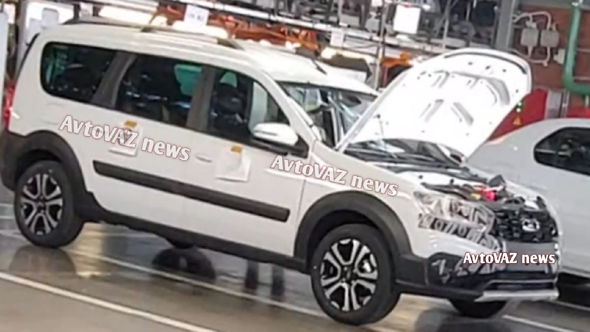 АвтоВАЗ запустил производство обновлённой Lada Largus