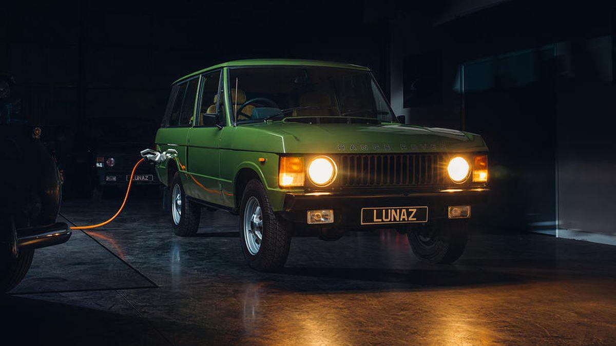 Классический Range Rover превратят в электрокар за 24,5 миллиона рублей