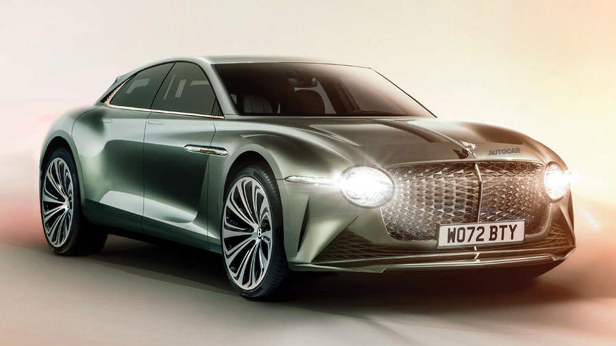 Первым электрическим Bentley может стать вседорожный седан