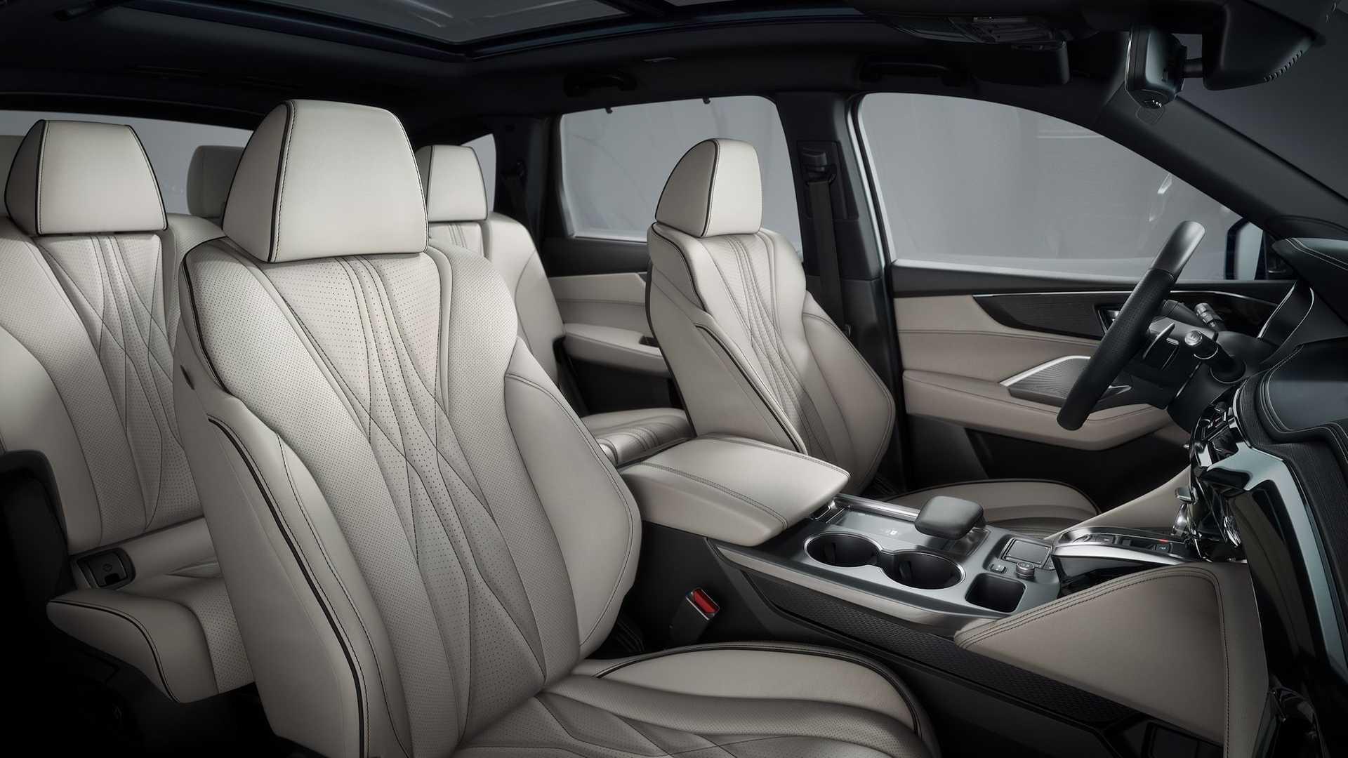 25 дюймов дисплеев и 25 динамиков: представлен новый кроссовер Acura MDX