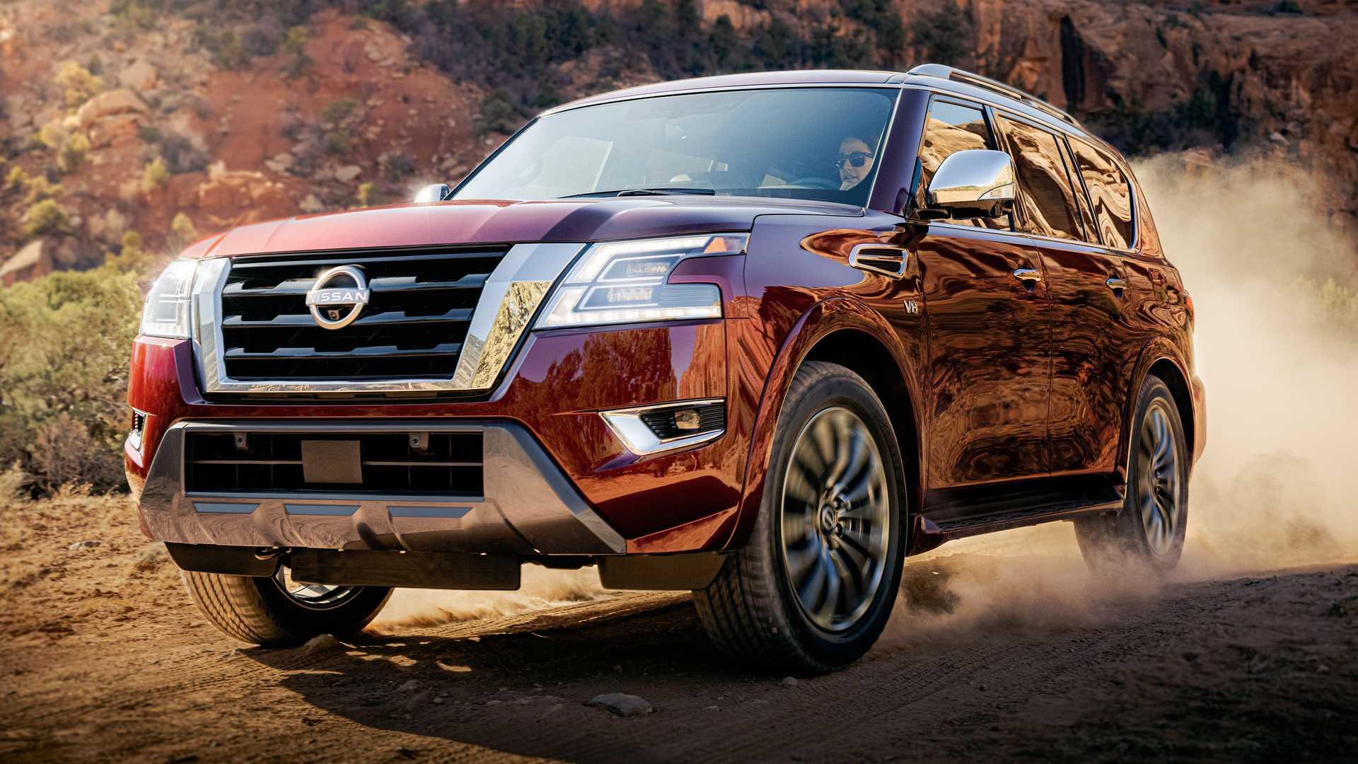 Североамериканский Nissan Patrol получил гигантский медиадисплей