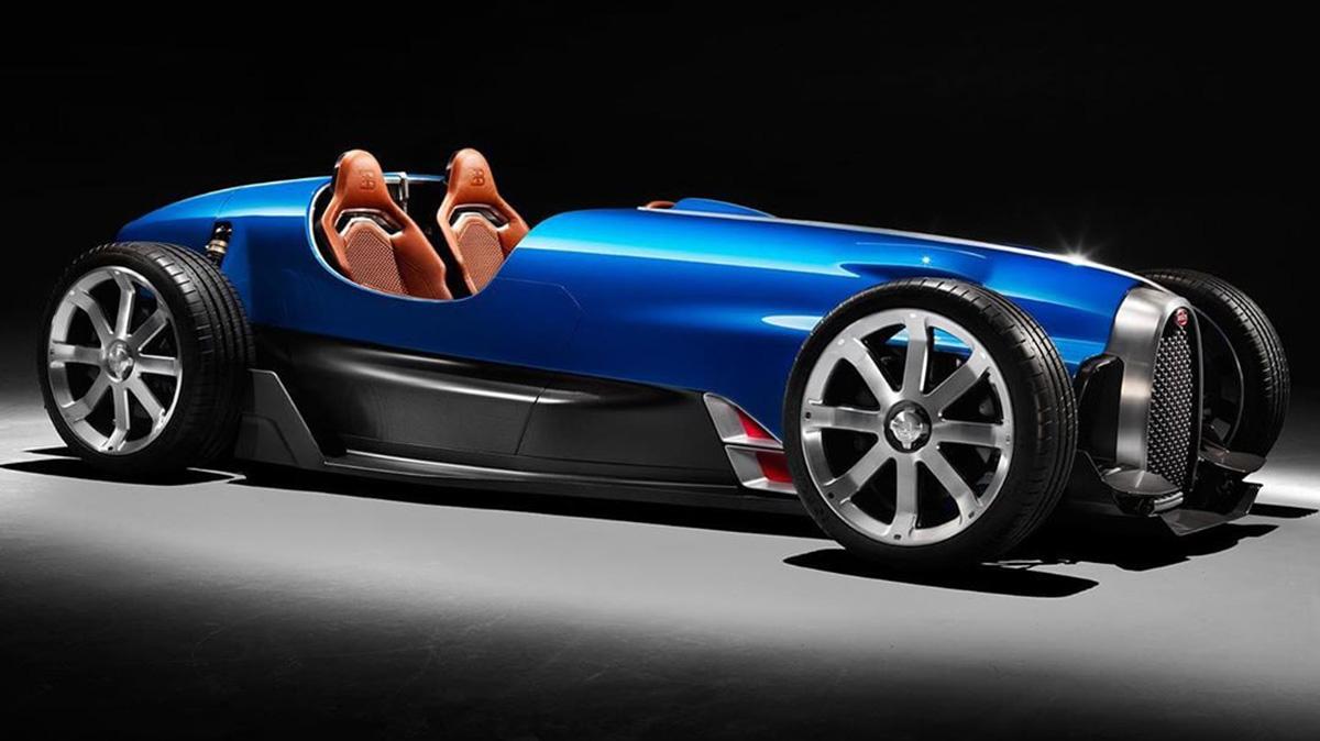 Немцы показали возрождённый Bugatti Type 35 из карбона