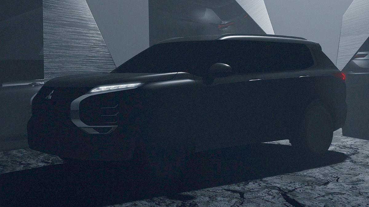 Новый Mitsubishi Outlander: первый официальный тизер