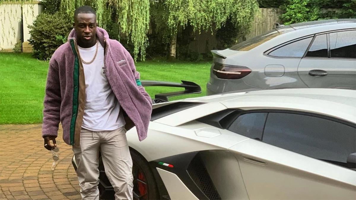 Полиция может уничтожить Lamborghini футболиста «Манчестер Сити»