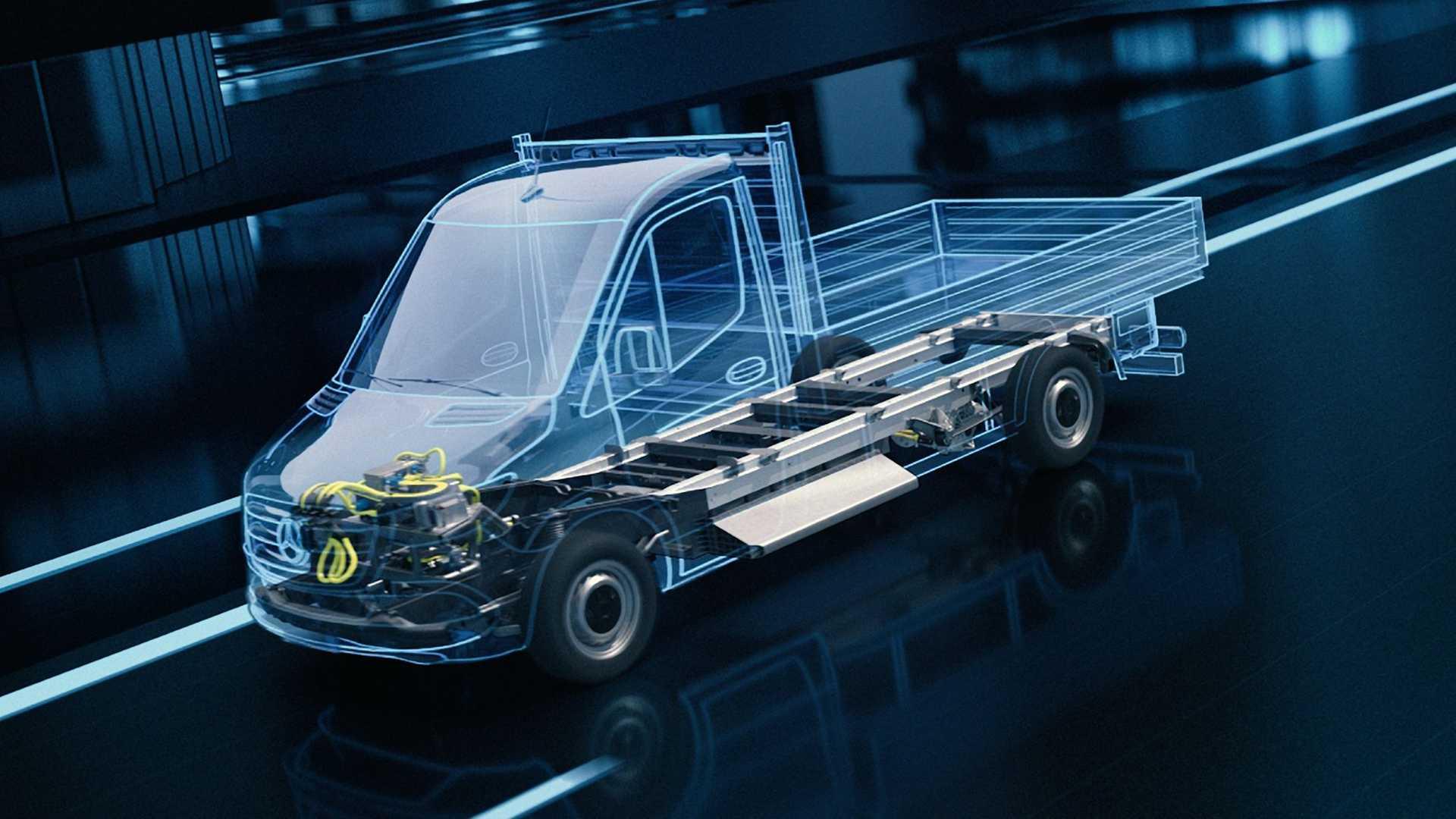 Марка Mercedes-Benz рассказала об электроплатформе для коммерческих машин