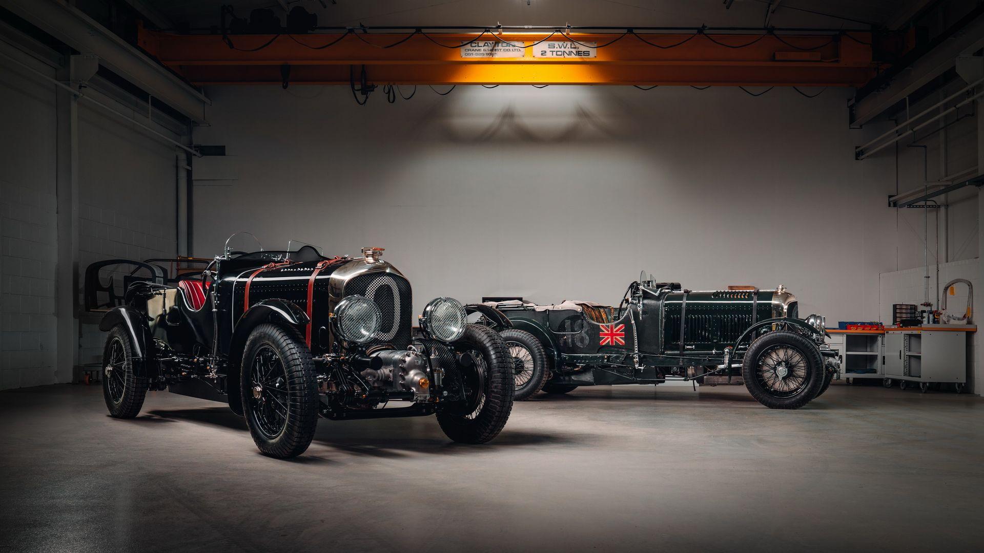 Компания Bentley представила первый за 90 лет новый Blower