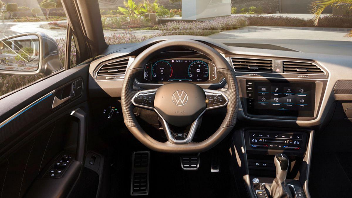 Опубликованы цены на обновлённый VW Tiguan, и он подешевел