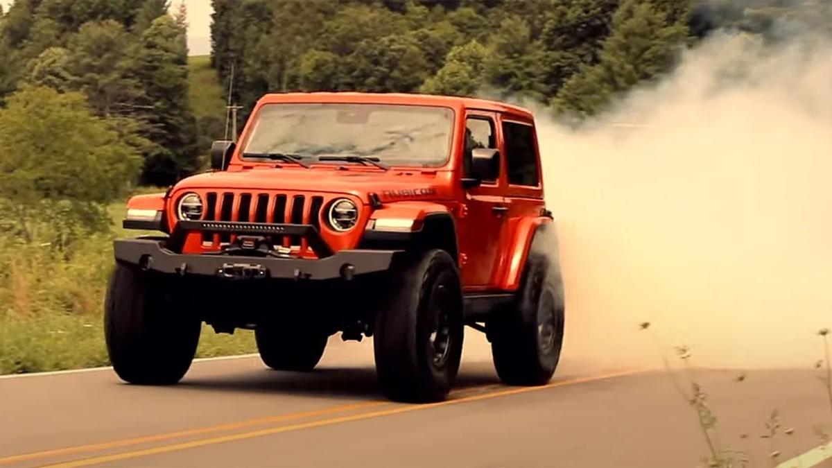 Посмотрите на самый мощный Jeep Wrangler с 808-сильным мотором Demon V8