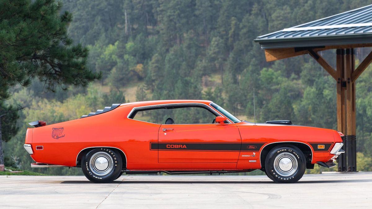С молотка пустят один из 30 выпущенных масл-каров Ford Torino особой серии 1970 года