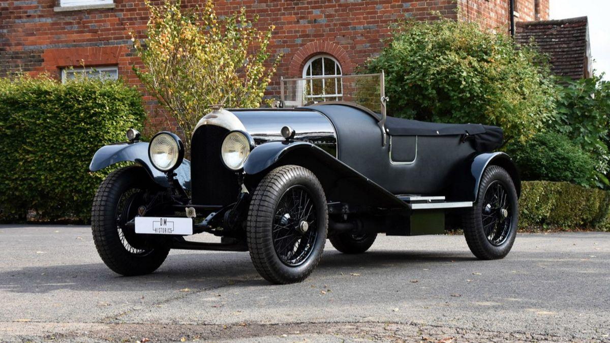 На продажу выставлен Bentley, которому почти сто лет. Очень дорого