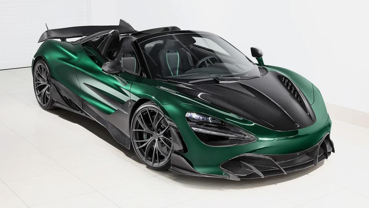 На Авто.ру продают эксклюзивный McLaren за 33,7 млн рублей. Его прокачали россияне