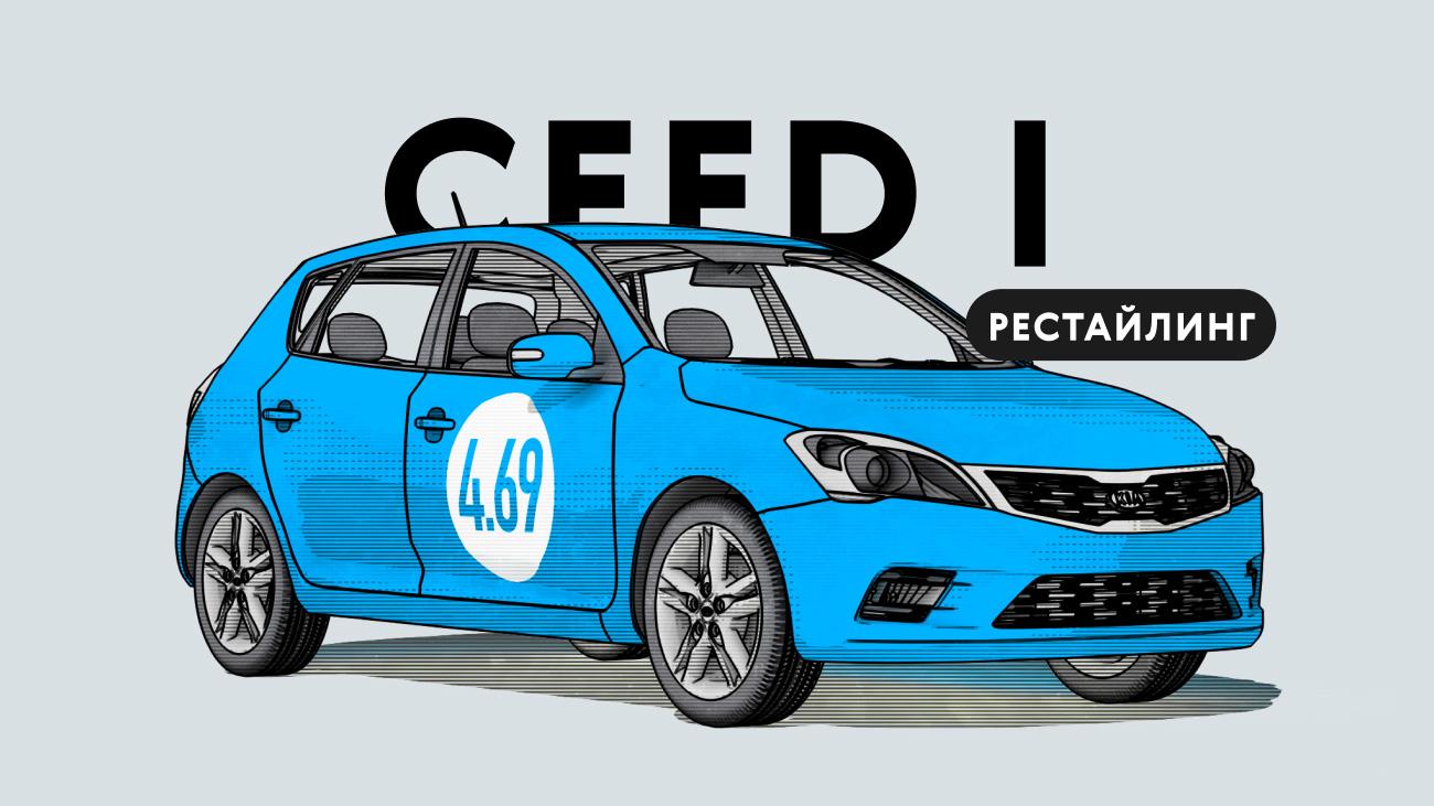 Надёжен лирестайлинговый Kia Ceed Iпоколения: все проблемы автомобиля спробегом