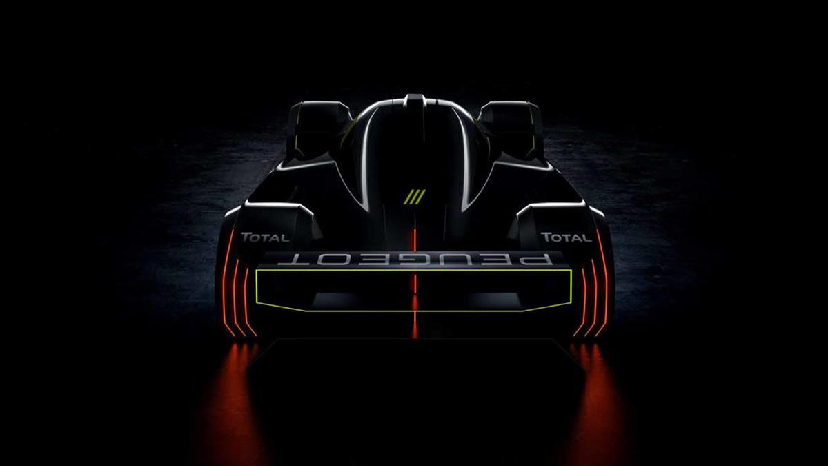 Peugeot готовит 670-сильный гибридный суперкар для гонок в Ле-Мане