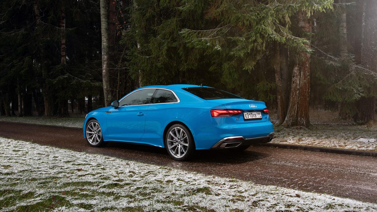 Тачскрин вместо Торсена: короткий тест обновлённых Audi A4 иА5