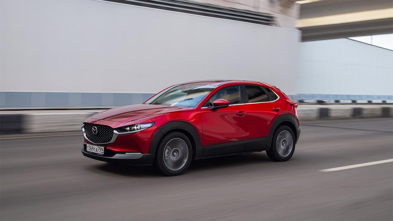 Раскрыты цены всех версий кроссовера Mazda CX-30 для России