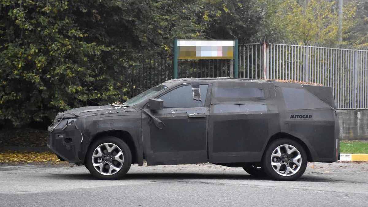 Новый семиместный Jeep для Европы: первые фото