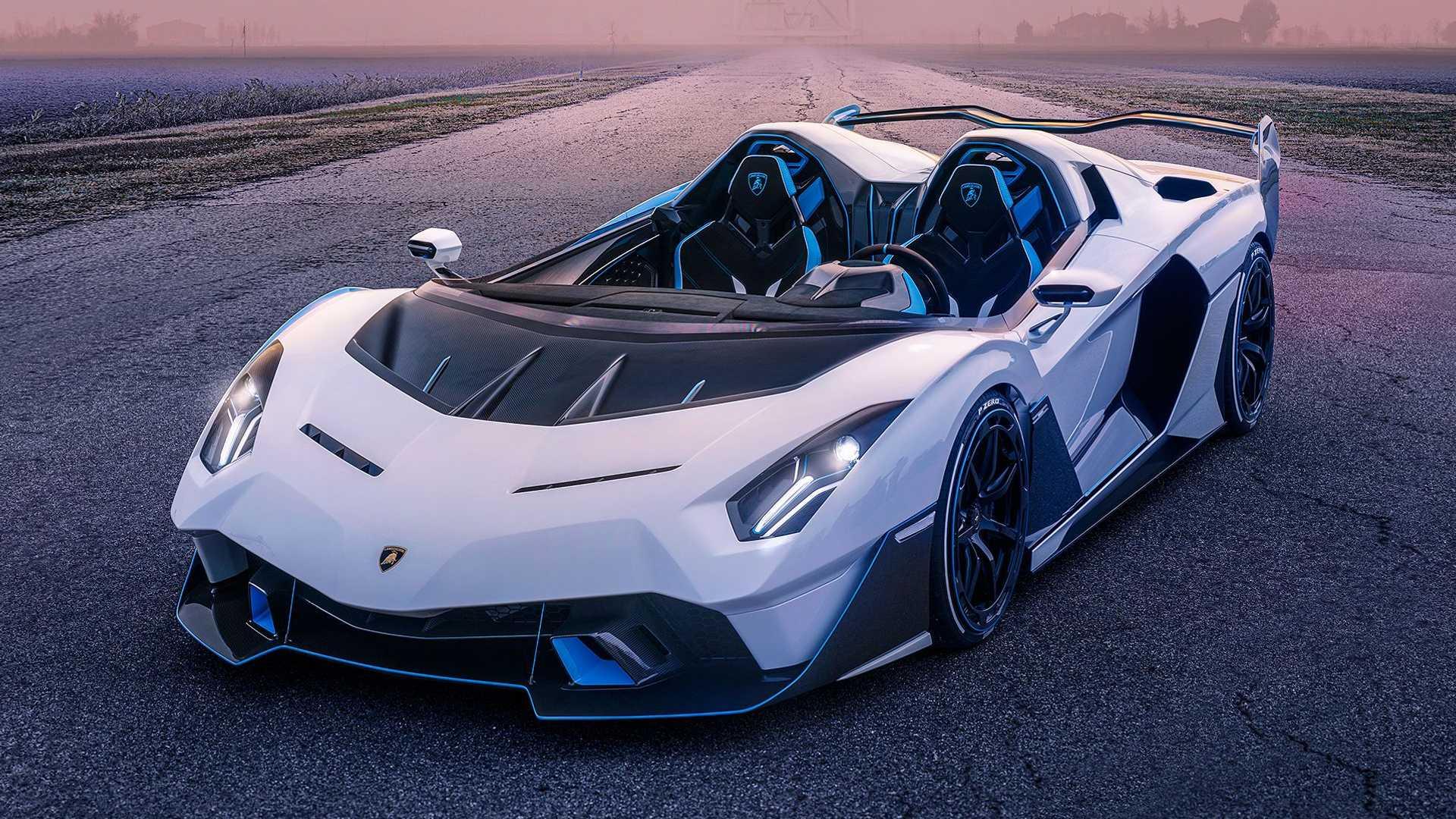 У Lamborghini появился собственный спидстер — единственный в своём роде